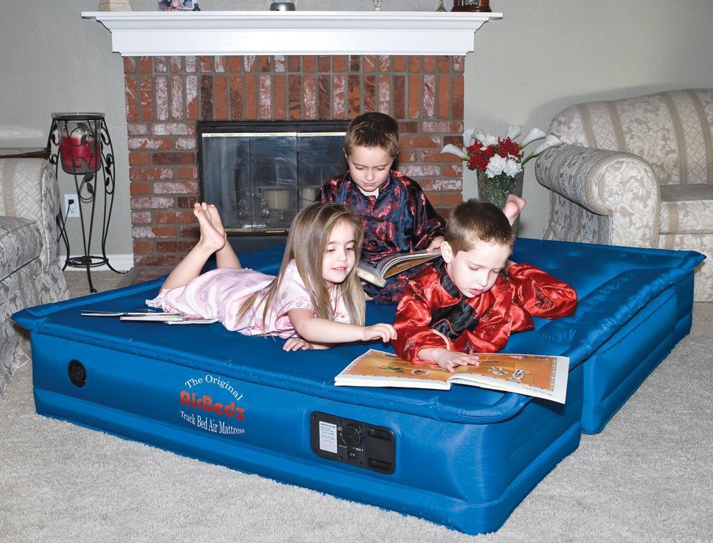 Pittman Outdoors PPI 104 AirBedz Blue Truck Air Mattress (for 5'5'' to 5'8'' Beds, Original) by Pittman Outdoors