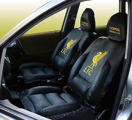 Amazon Com Liverpool Fc Car Seat Covers Luxury Edition Black
