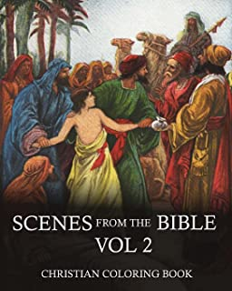Coloring BookScenes From The Bible