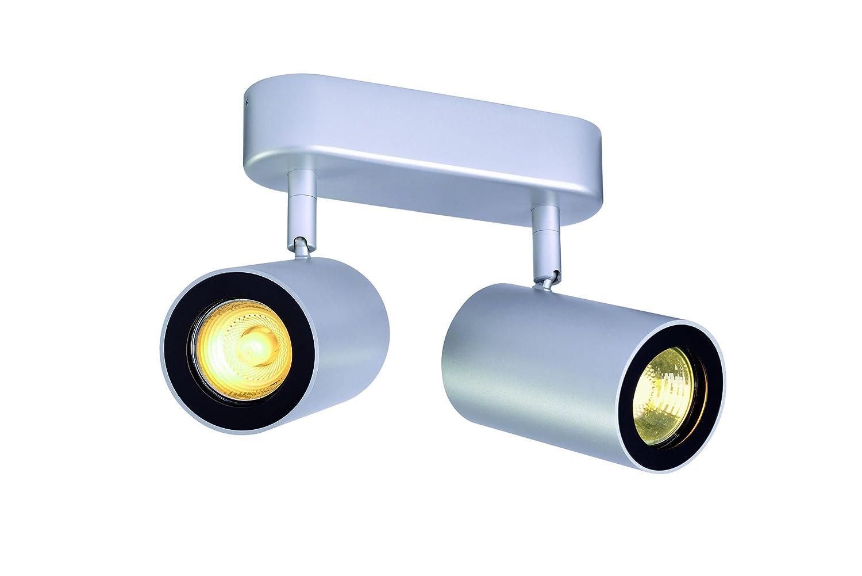 SLV ENOLA_B Indoor-Lampe Aluminium/Stahl Silber Lampe innen, Innen-Lampe [Energieklasse A] 152024