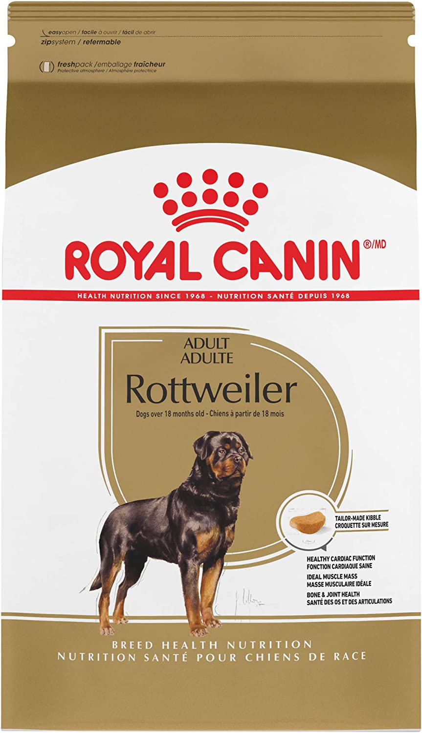 Royal Canin Breed Health Nutrition Rottweiler Adult Dry Dog Food