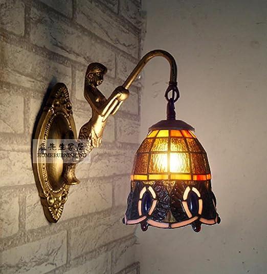 lampes Tiffany pas cher avant Lampe murale classique miroir ...