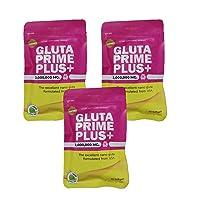 X3box.-Supreme Gluta Prime Plus gluta white Lightening white Glutathione 2000000 Mg Whitening Anti Aging (1box: 30 Softgels)