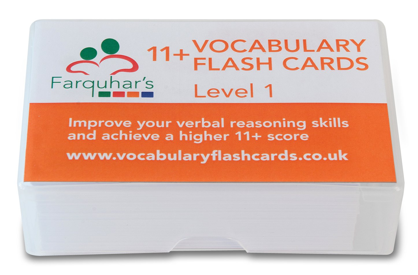 11+ Vocabulary Flash Cards - Level 1 Updated 2018