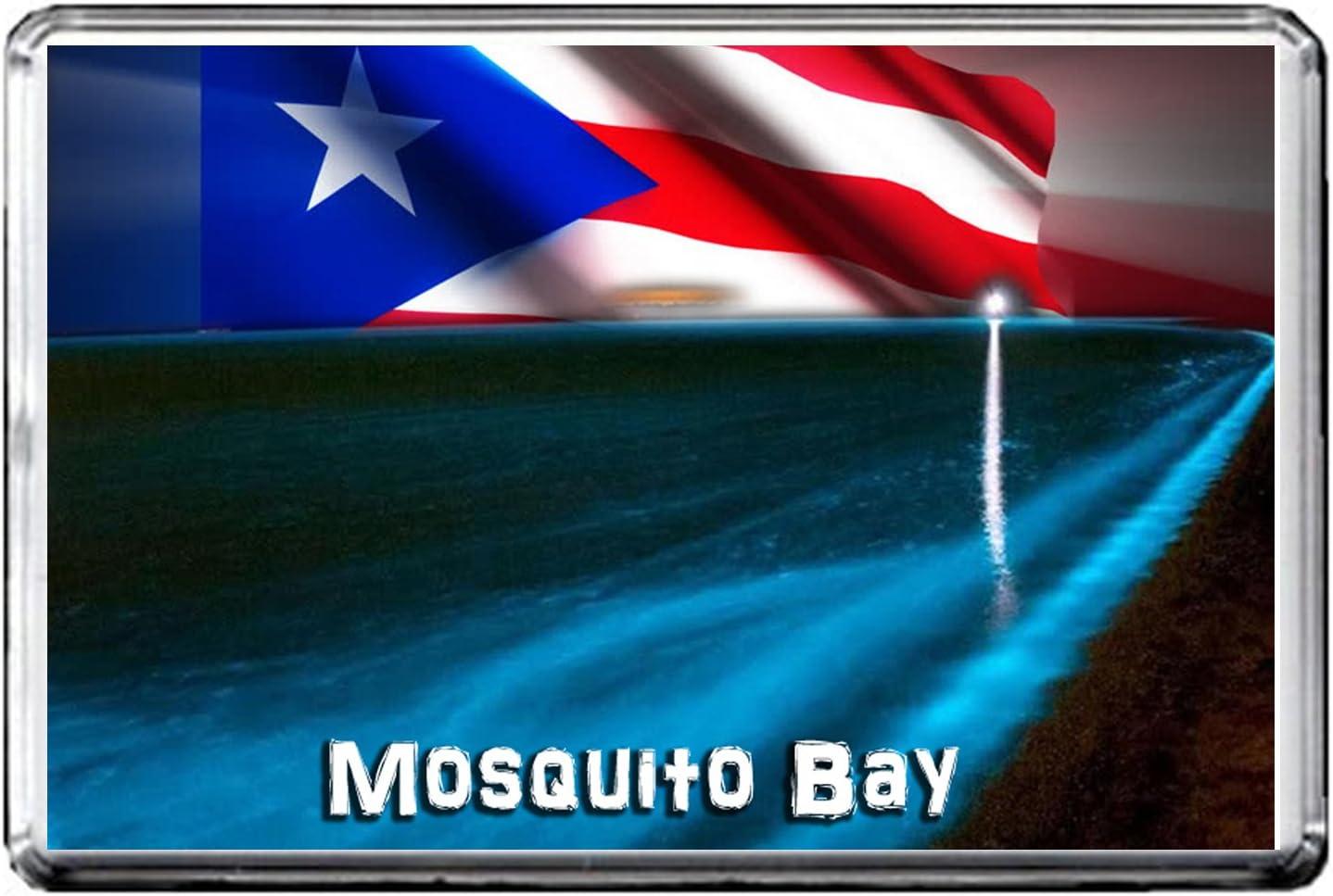 GIFTSCITY C236 MOSQUITO BAY FRIDGE MAGNET PUERTO RICO TRAVEL REFRIGERATOR MAGNET