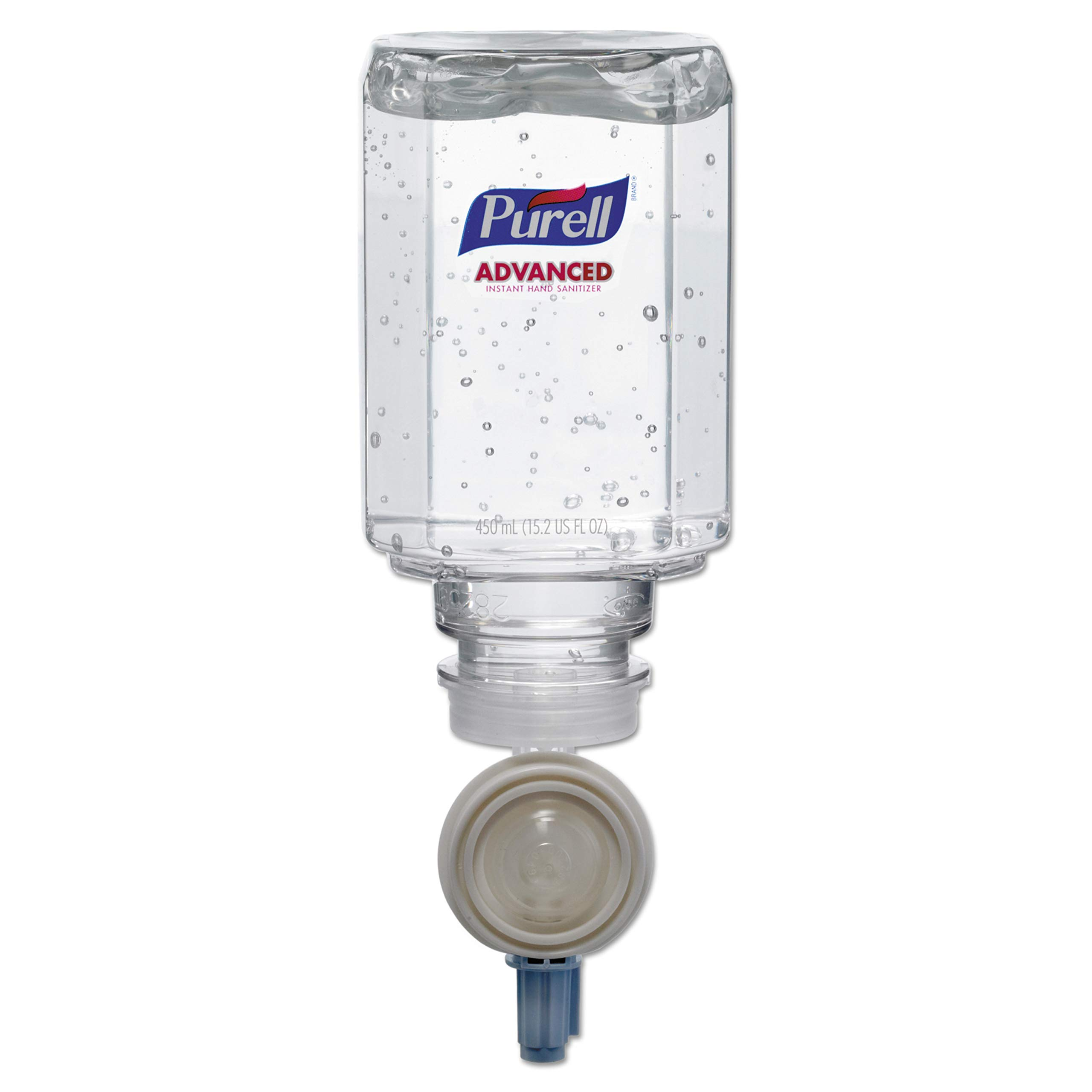 PURELL 145006 Advanced Instant Hand Sanitizer Gel Refill, 450mL (Case of 6)