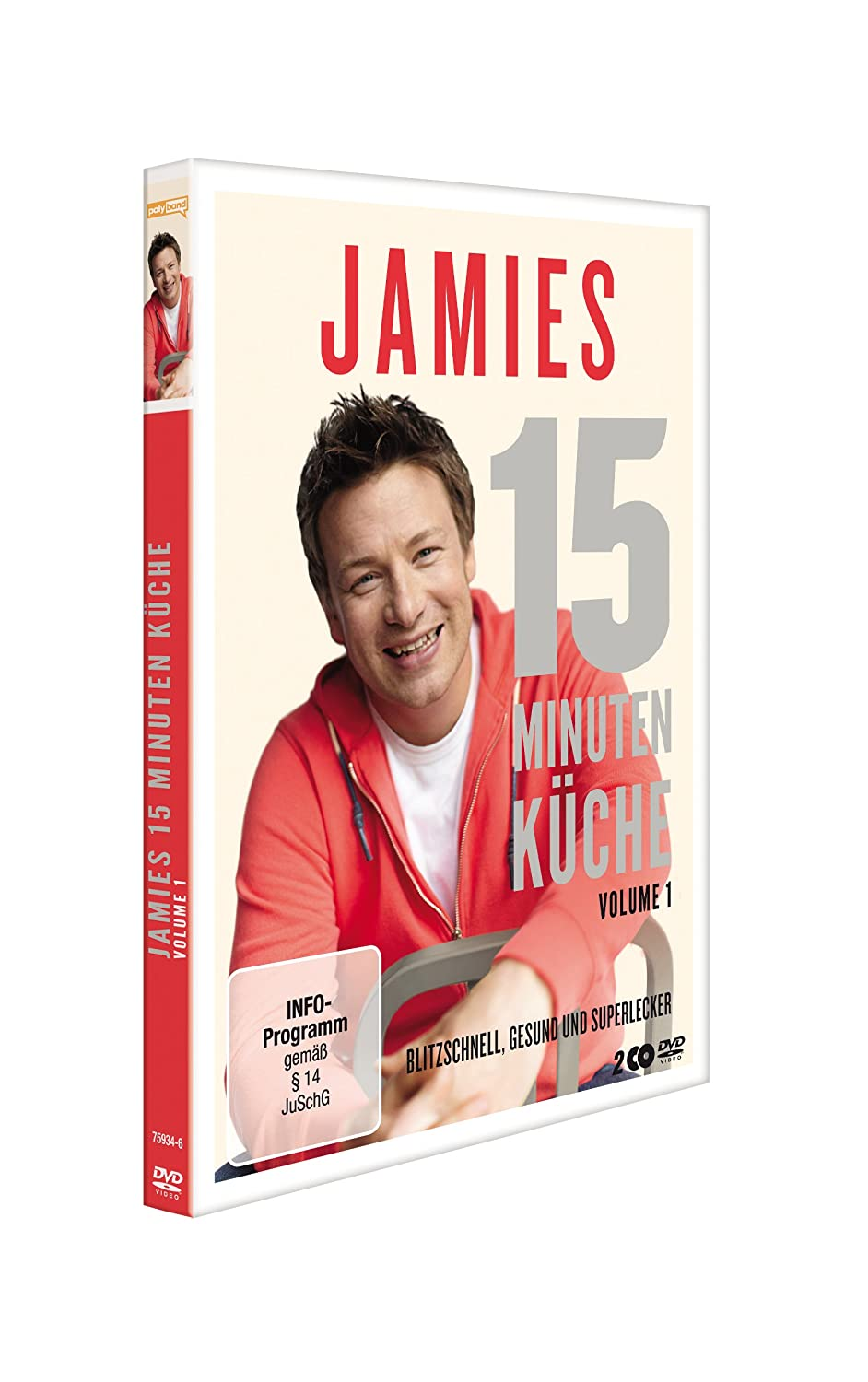 Jamies 15 Minuten Küche - Volume 1 [2 DVDs]: Amazon.de ...
