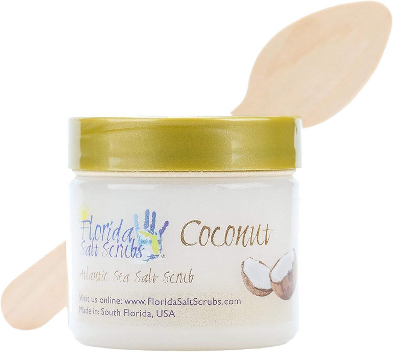 Florida Salt Scrubs, 2.9 Ounce, Coconut