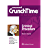 Emanuel CrunchTime for Criminal Procedure (Emanuel CrunchTime Series)