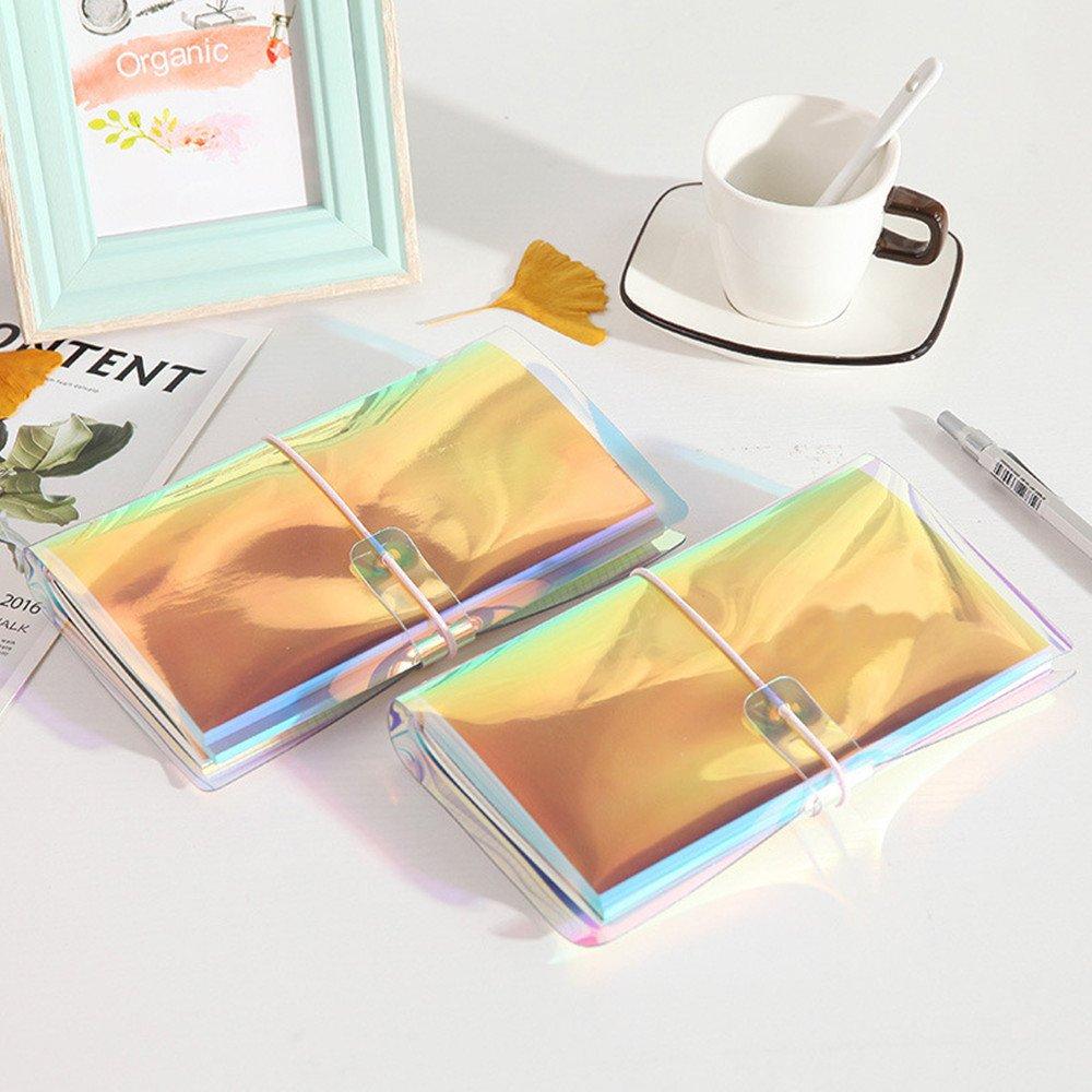 Amazon.com: multibey colorido viajeros Notebook holográfica ...