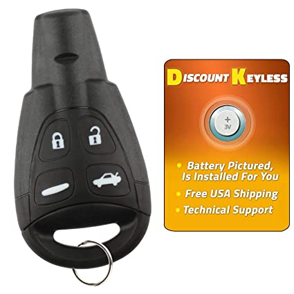 Discount Keyless Remote Entry Replacement Car Key Fob For