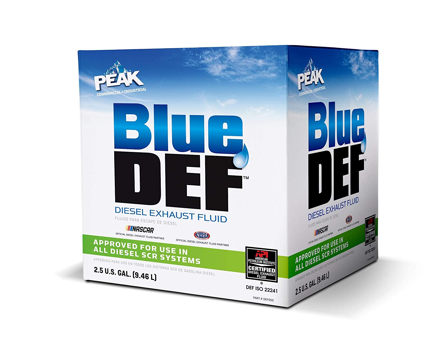 Diesel Exhaust Fluid >> Peak Bluedef Diesel Exhaust Fluid 2 5 Us Gallon