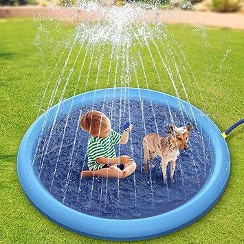 Nobuddy Splash Sprinkler Pad para Perros Niños, 67