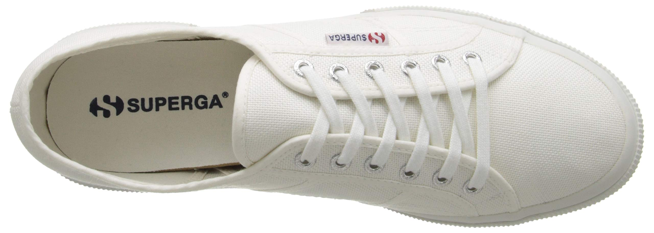 Superga 2750 Cotu Classic, Unisex Adults' Low-Top Sneakers, White, 7.5 UK (41.5 EU) by Superga (Image #9)