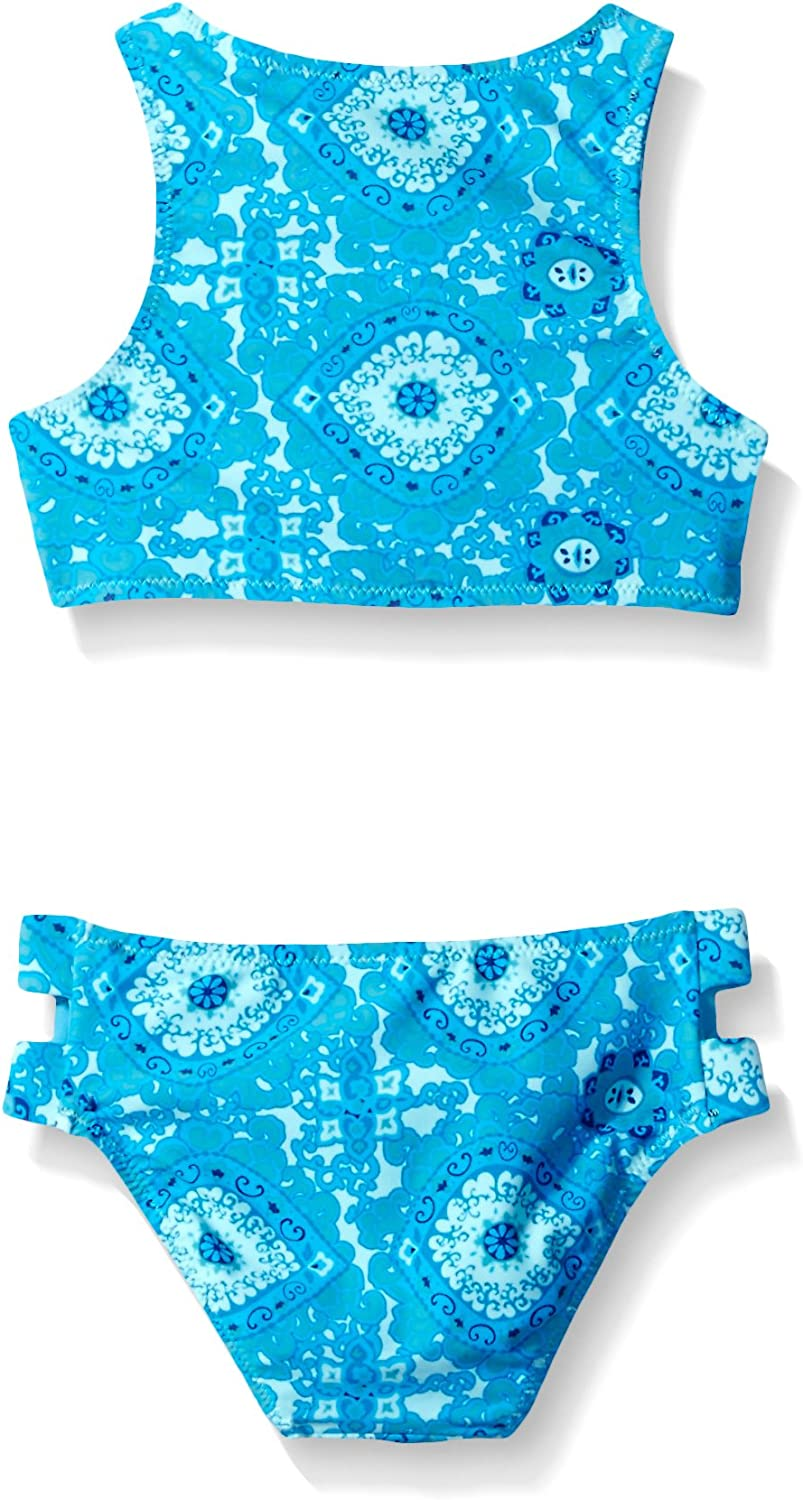Tommy Bahama Girls High Neck Two Piece Bikini