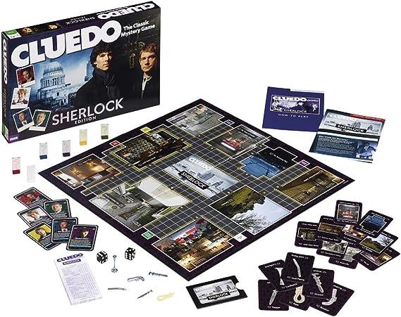 Cluedo Sherlock - Juego de Mesa (en inglés): Cluedo Sherlock Board Game: Amazon.es: Juguetes y juegos