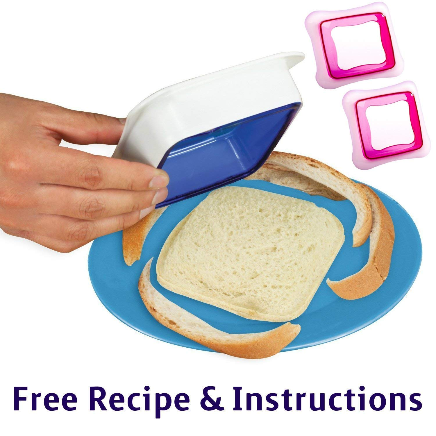 Affordable Sandwich Sealer n Decruster (2 Pack) by Affordable