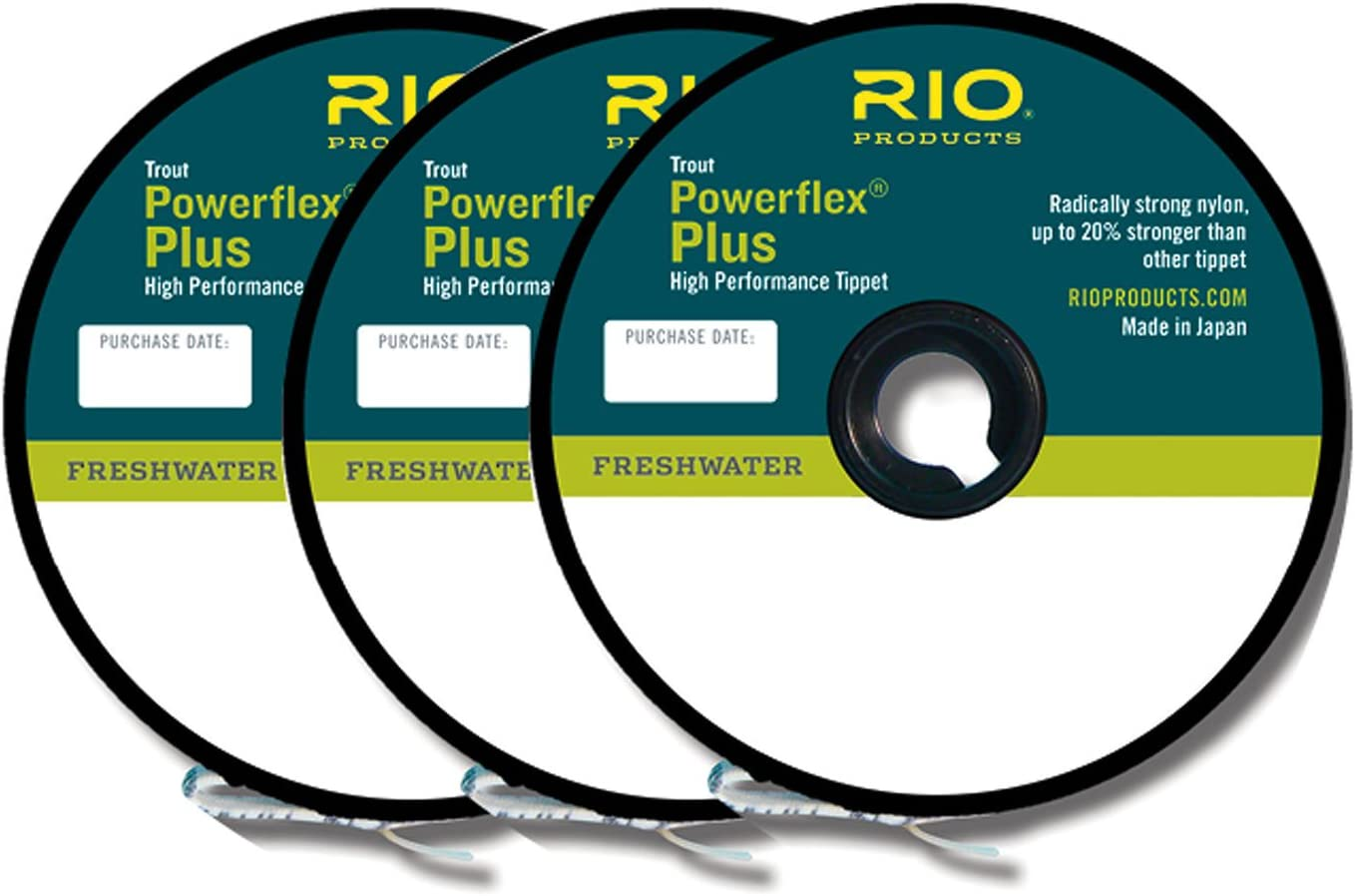 Spool 5x Rio Powerflex Plus Tippet 50 yd
