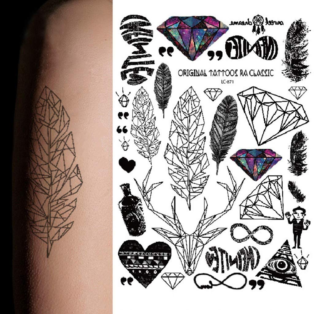 Clothful Men S Underwear Clearance 1pcs Makeup Beauty Tool Temporary Tattoos Body Art Tattoo Sticker Paste Amazon In Clothing Accessories