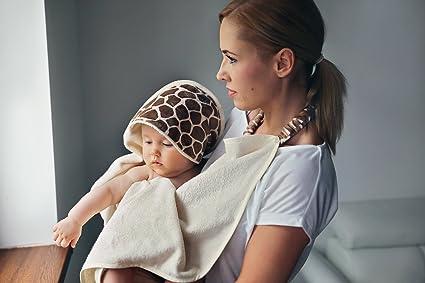 MayLily® Premium | Delantal Toalla para mamás y bebés | Algodón ...