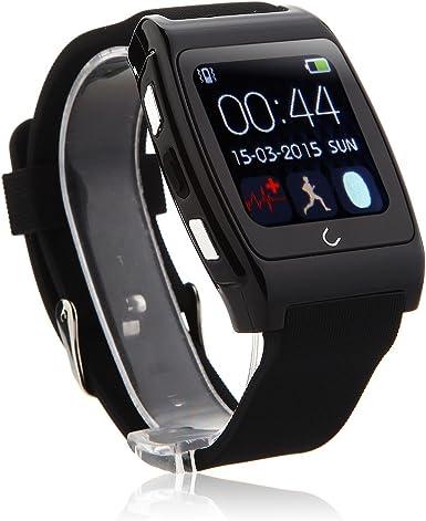 U reloj UX Bluetooth reloj pulsómetro para iOS y Android ...