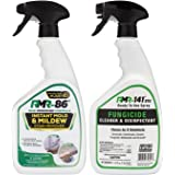 RMR Brands Complete Mold Killer & Stain Remover Bundle - Mold and Mildew Prevention Kit, Disinfectant Spray, Bathroom Cleaner