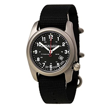 3c3bb460fed Image Unavailable. Image not available for. Color  Bertucci A-2T Classic Field  Watch ...