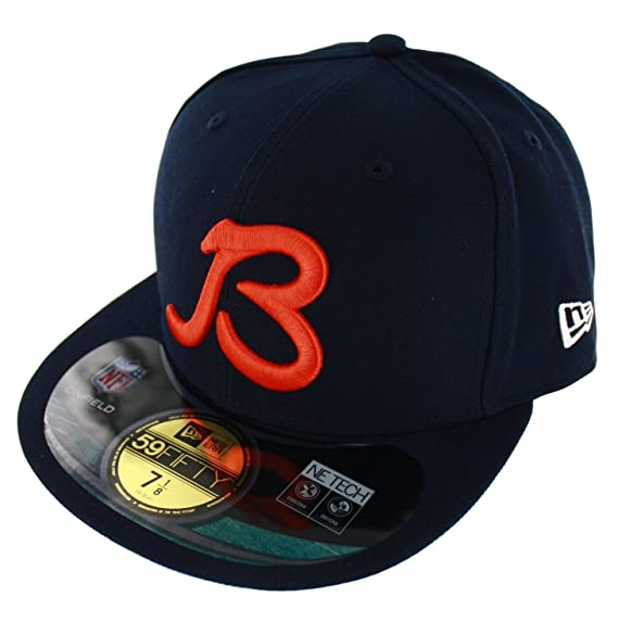 89fa2daec81d7 cheap chicago bears orange b logo franchise fitted cap 01bdd 11562   shopping nfl chicago bears on field 5950 b cap navy 7 1 4 5c501 4b8d7