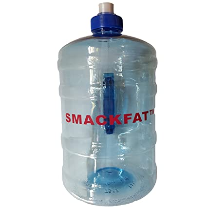 smackfat Water Bottle Jug 2 Liters on The Go - Great for Weightloss -  Reliable with a