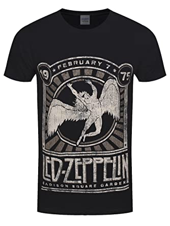 Mens LED Zeppelin-Madison sq Garden T-Shirt CID Geniue Stockist Cheap Price Lowest Price For Sale 4Br5Q