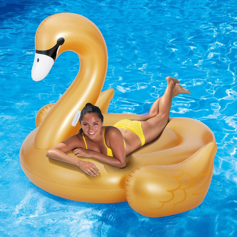 Amazon.com: Summer Waves grande dorado gigante paseo en ...