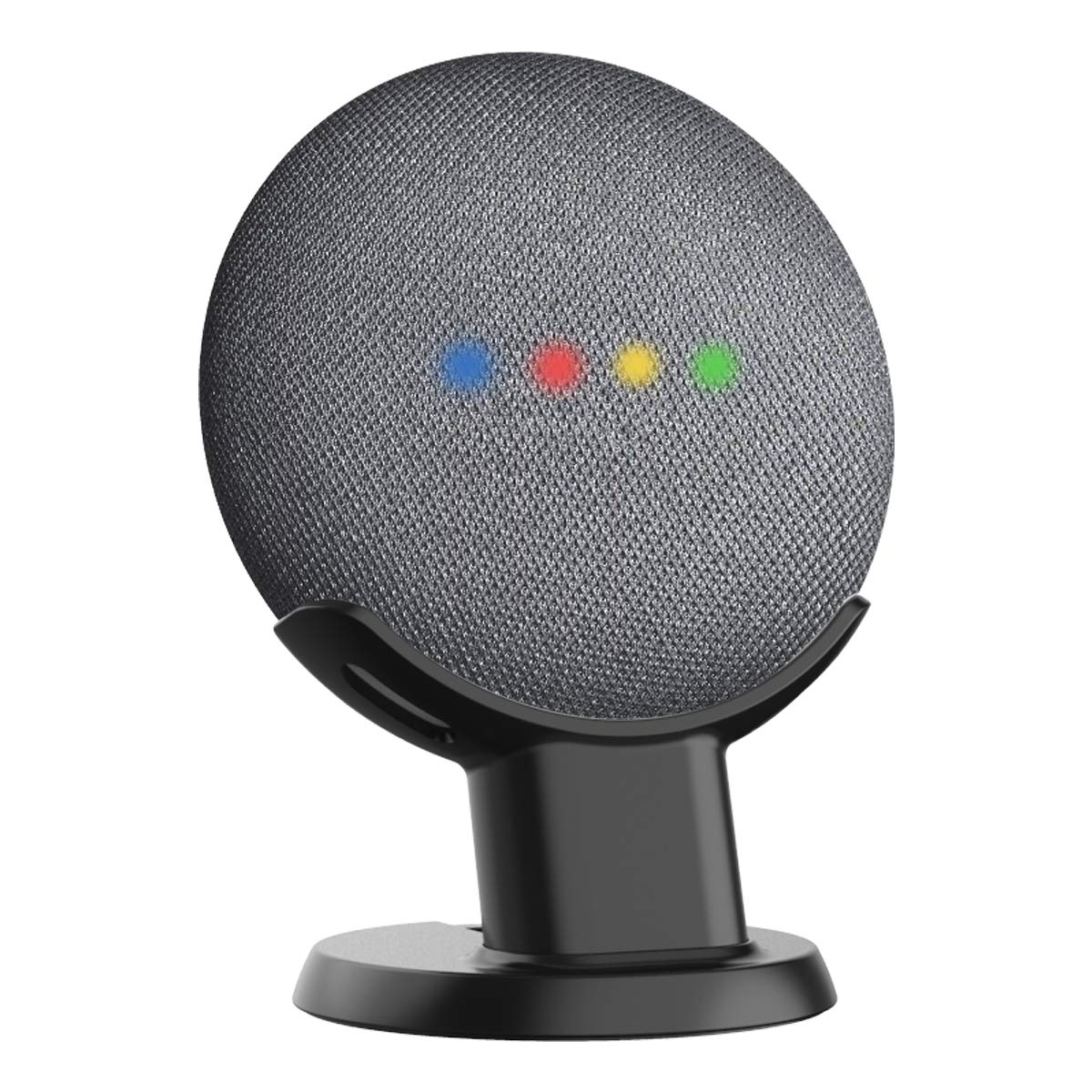 SPORTLINK Pedestal for Google Home Mini Improves Sound Visibility and Appearance - A Must Have Mount Holder Stand for Google Mini (Black)