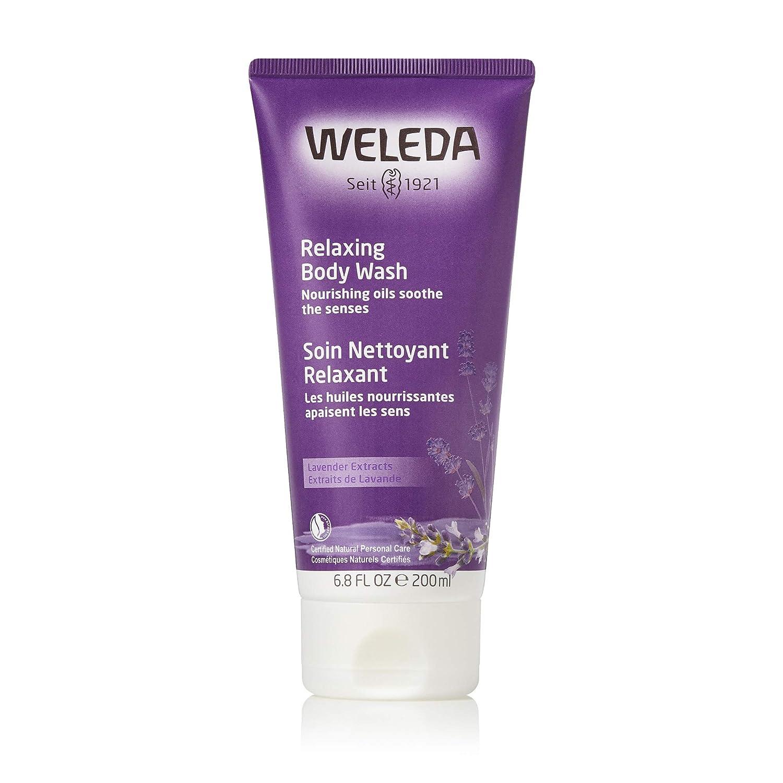 Weleda Creamy Body Wash, Lavender, 6.8 Fluid Ounce