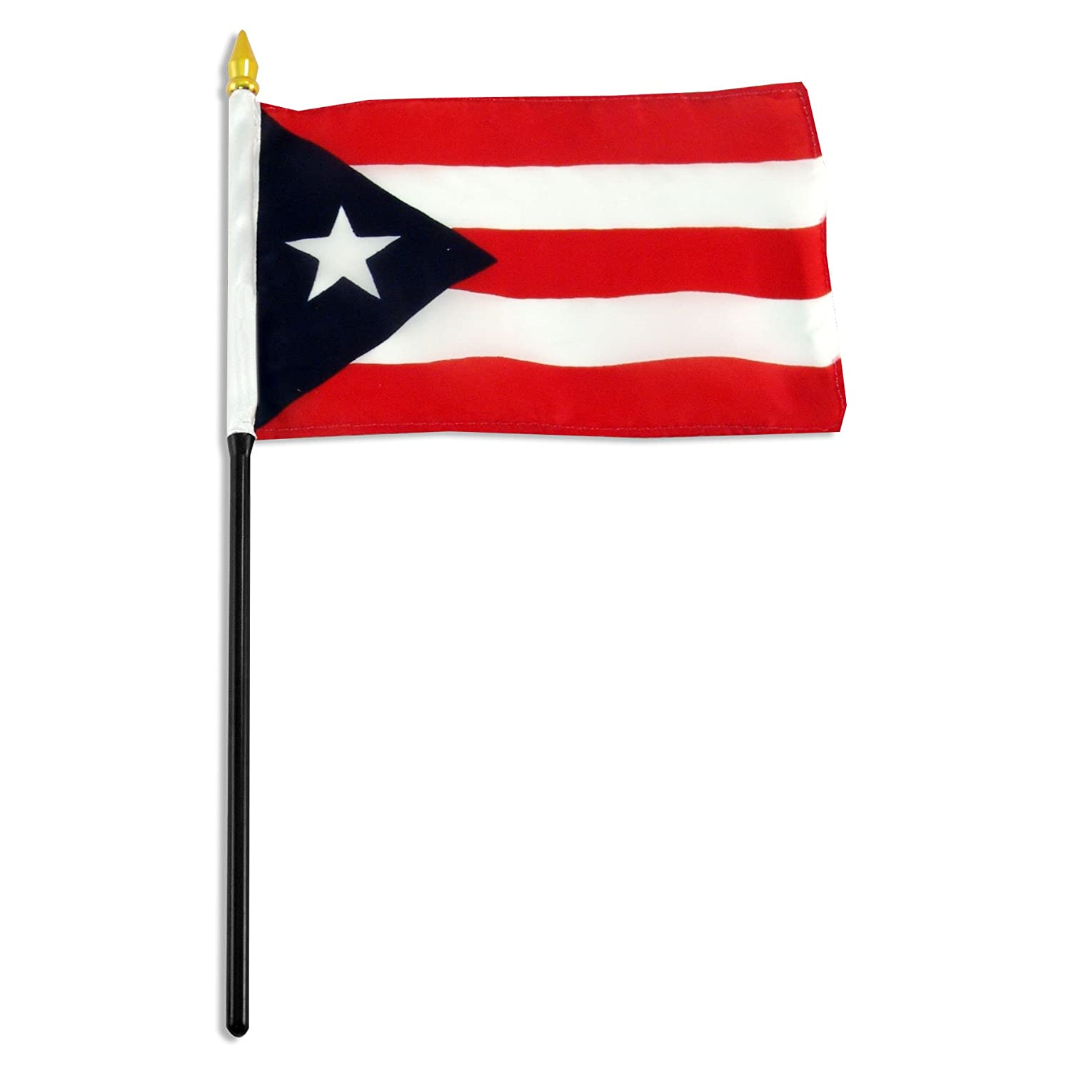 Amazon com us flag store puerto rico flag 4 by 6 inch outdoor flags garden outdoor