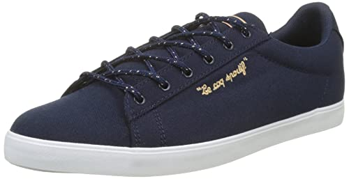 best service fcd67 e39c1 Le Coq Sportif Women s Agate LO CVS Metallic Trainers, Bleu (Dress Blue