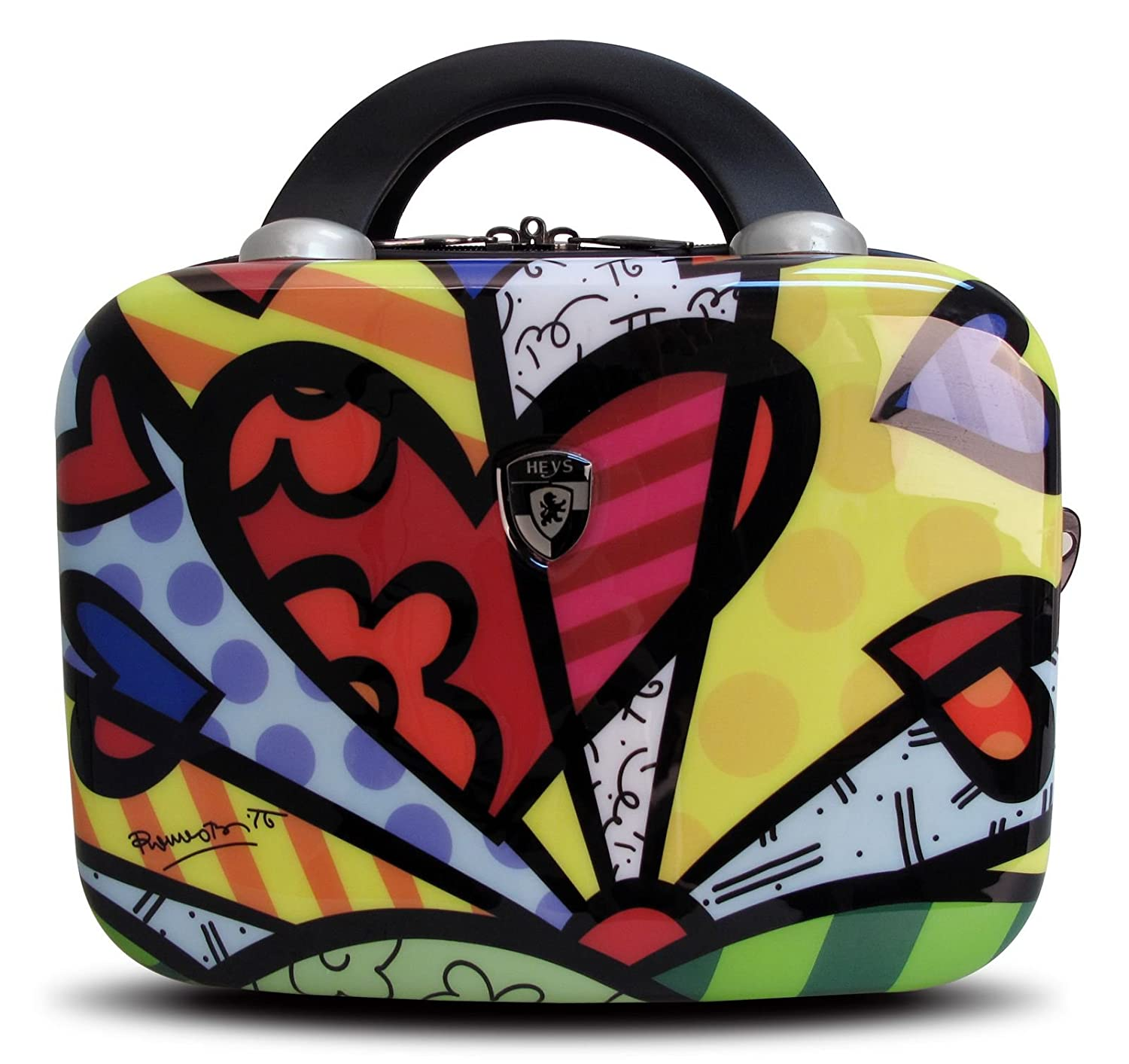 ... 50% SALE ... PREMIUM DESIGNER Hartschalen Koffer - Heys Künstler Britto A New Day - Beauty-Case