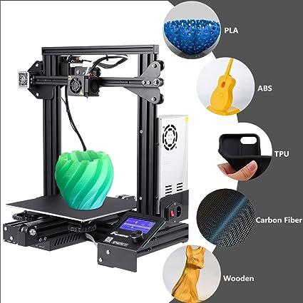 Foxnovo Impresora 3D, kit de impresora 3D Ender 3 con alta ...