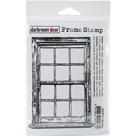 Amazon.com: Darkroom Door Cling Stamp 4.5x3-Window: Arts, Crafts ...