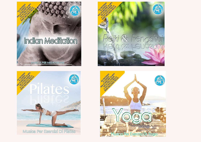 Offerta Speciale 4 Cd Audio Serie Wellness Relax Meditation ...