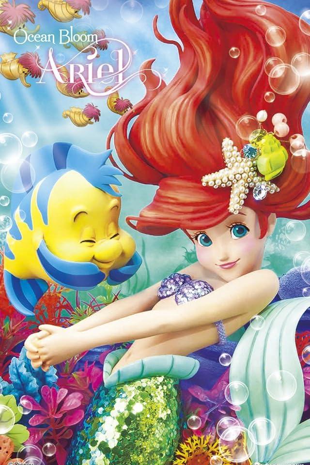 ディズニー リトルマーメイド iPhone(640×960)壁紙画像