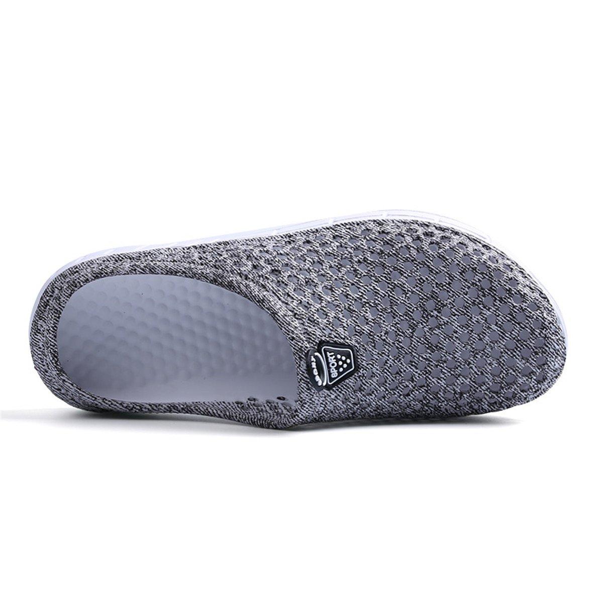 Ginjang Women's Garden Clogs Shoes Slip-on Slippers Sandals(38/Gray) by Ginjang (Image #3)
