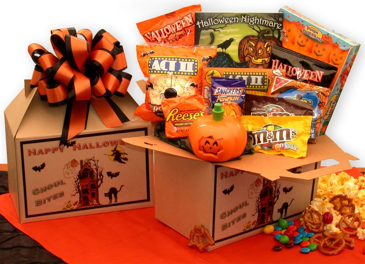 Ghoul Bites Halloween Care Package by GiftBasketsAssociates by GiftBasketsAssociates