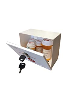 Axis International Secure A Meds Personal Medication Lock Box, 1.5 Pound USA patent pending