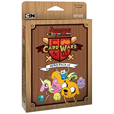Adventure Time Card Wars Hero Pack #1: Cards: Toys & Games