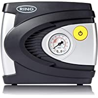 Ring RAC610 12V Analogue Tyre Inflator, Air Compressor Tyre Pump