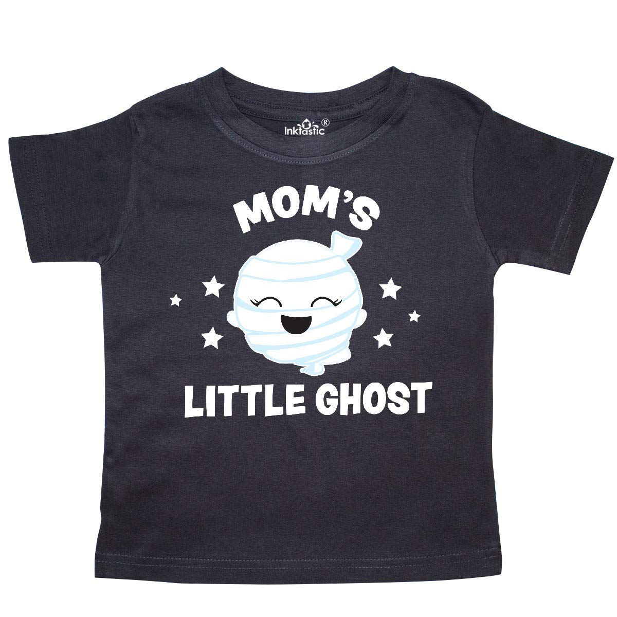 inktastic Cute Moms Little Ghost with Stars Toddler T-Shirt
