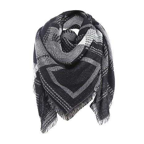 meilleure qualité Découvrez matériau sélectionné Fami Femmes Plaid Foulards, Femme Longue Echarpe en laine à laine Pour  Automne/Hiver pour