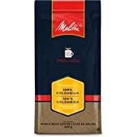 MELITTA 100% Colombian Whole Bean, 100% Arabica Coffee Beans, Premium Coffee, Kosher Certified, 907 g