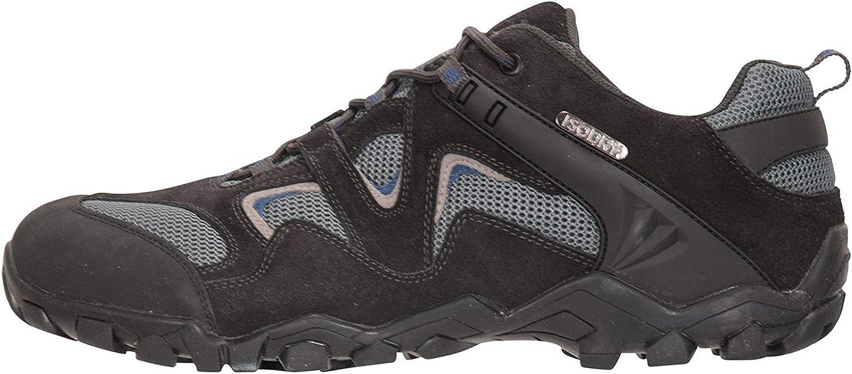 Mountain Warehouse Curlews Mens Waterproof Walking Shoes Hiking Sneakers