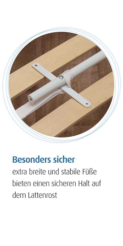 Reer 45030 Bettgitter Sleep\'n Keep, 100 cm, cappuccino/sand: Amazon ...